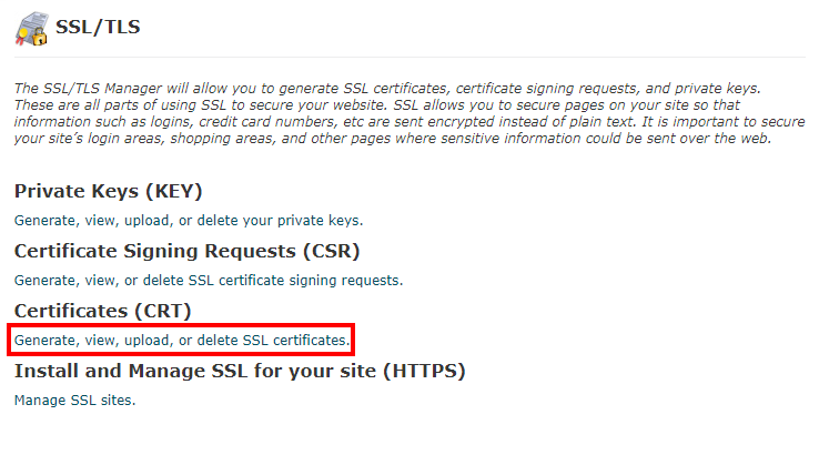 Install a Purchase SSL - Knowledgebase - KreativeBirds